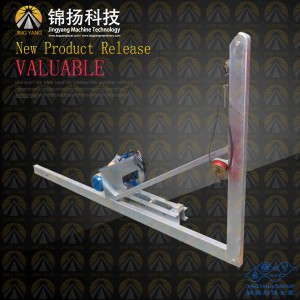 GJJ-material-hoist-mast-section-electric-automatic-lifting-device