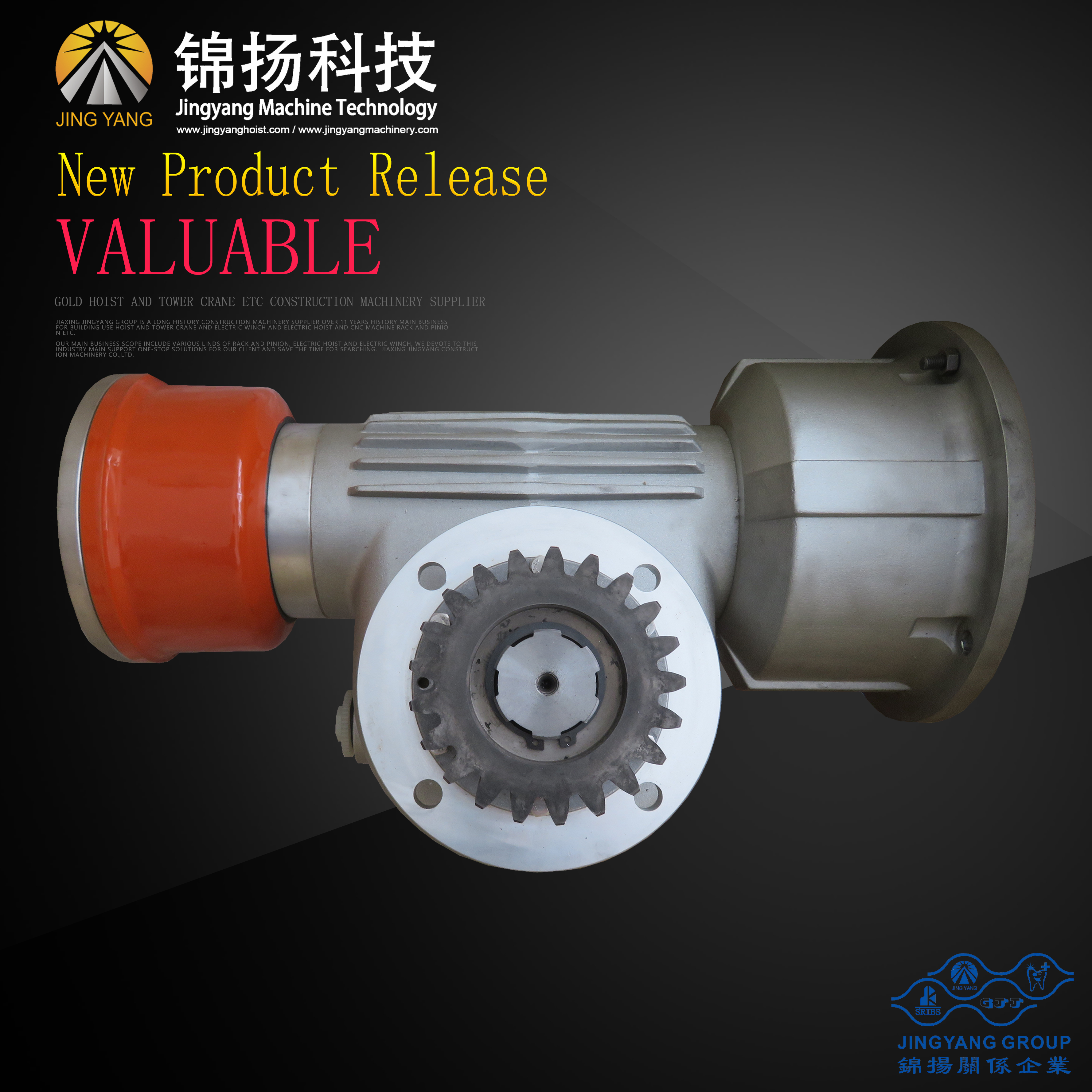 building hoist material hoist reducer  Product code: JY-RD-116-B-2 Featured Image
